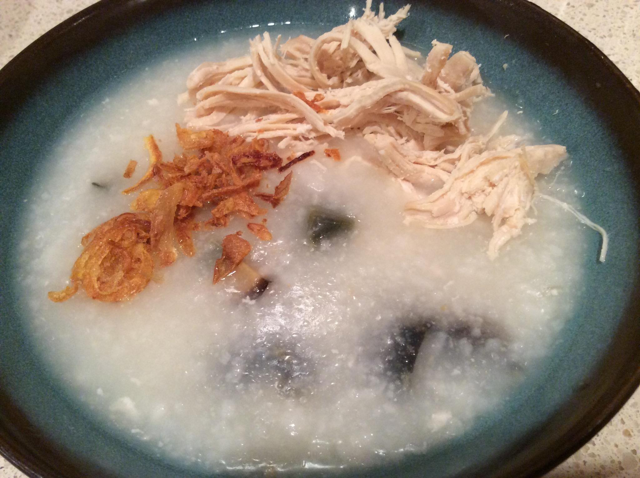 how to cook egg porridge